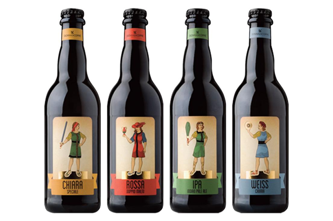 birra donna di coppe