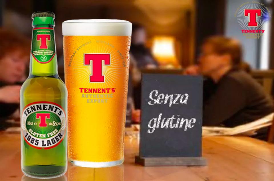 Birra Tennent's senza glutine Don Carmelo Palermo